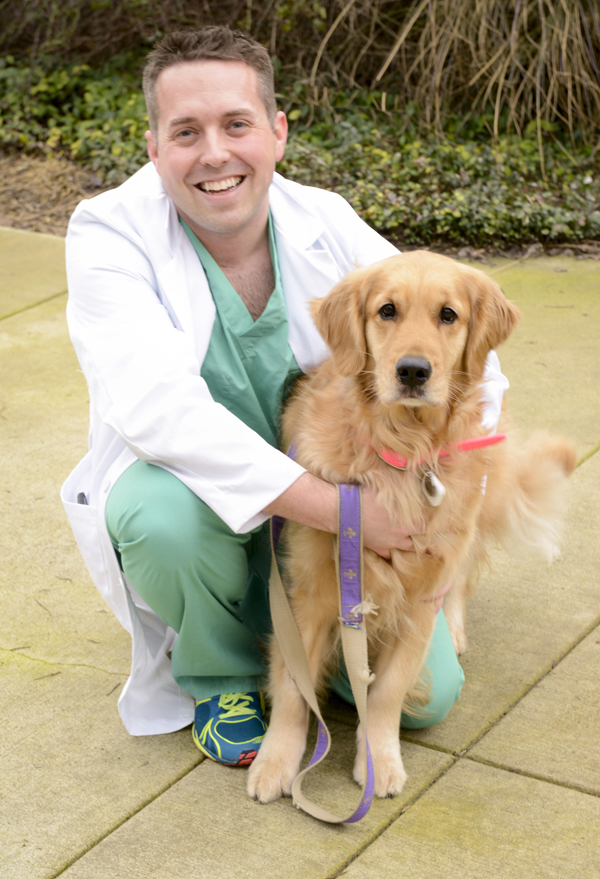 Dr. Stern and dog